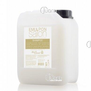 Helen Seward Emulpon Salon maitinamasis šampūnas su kviečių proteinais sausiems plaukams 4