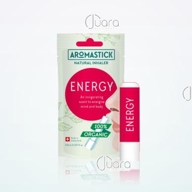 AromaStick ENERGY energijos suteikiantis uostukas - nosies inhaliatorius, 0,8 ml