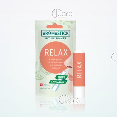 AromaStick RELAX atpalaiduojantis uostukas - nosies inhaliatorius, 0,8 ml