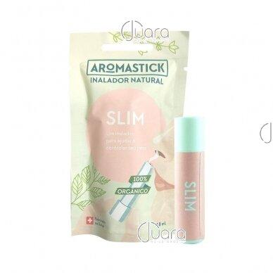 AromaStick SLIM padedantis reguliuoti svorį uostukas – nosies inhaliatorius, 0,8ml