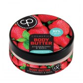 Cosmepick kūno sviestas su braškėmis ir baziliku Perfect Body, 200 ml