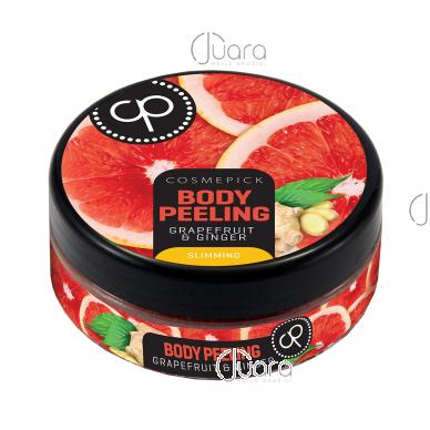 Cosmepick kūno šveitiklis su greipfrutais ir imbieru Slim Body, 200 ml