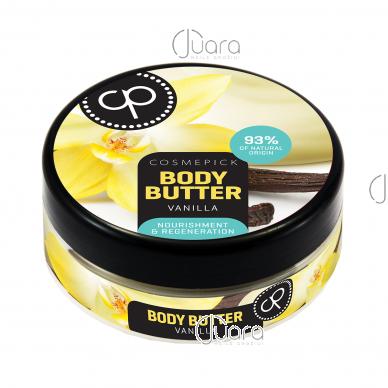 Cosmepick kūno sviestas su vanile Perfect Body, 200 ml