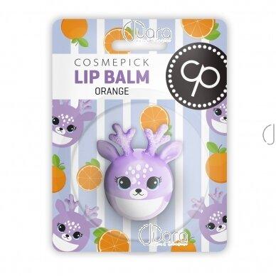Cosmepick lūpų balzamas apelsinų kvapo, 6 g