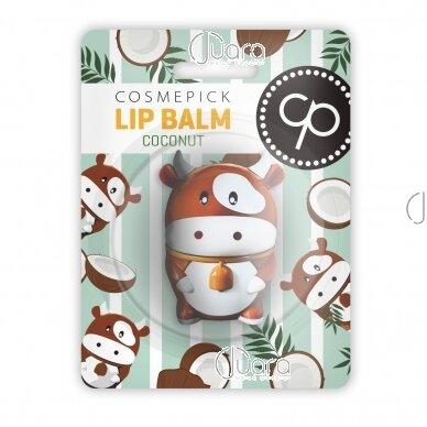 Cosmepick lūpų balzamas kokosų kvapo, 6 g