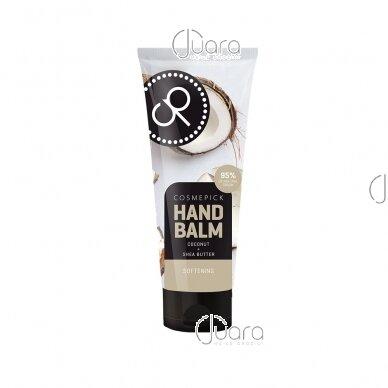 Cosmepick rankų balzamas su kokosų aliejumi ir taukmedžio sviestu, 80ml