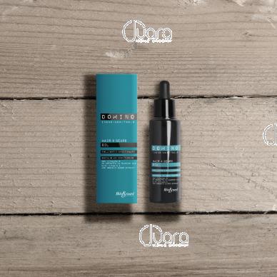 Helen Seward Domino plaukų ir barzdos aliejus, 50 ml