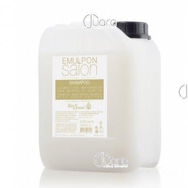 Helen Seward Emulpon Salon maitinamasis šampūnas su kviečių proteinais sausiems plaukams 3