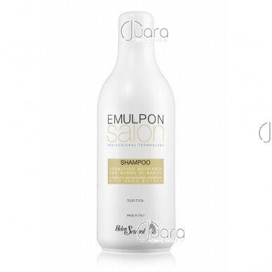 Helen Seward Emulpon Salon maitinamasis šampūnas su kviečių proteinais sausiems plaukams 2
