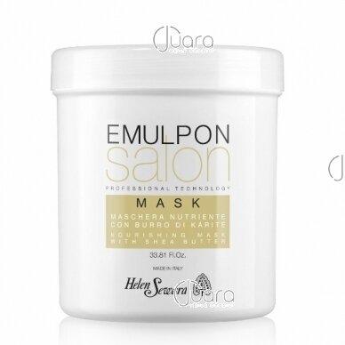 Helen Seward Emulpon Salon maitinamoji kaukė su kviečių proteinais sausiems plaukams