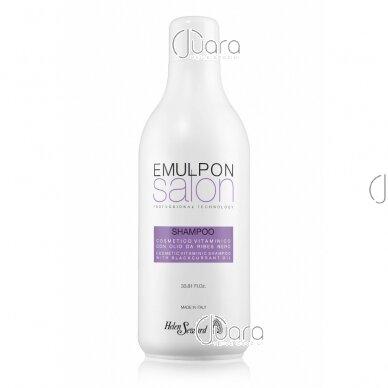 Helen Seward Emulpon Salon šampūnas dažytiems plaukams su vaisių ekstraktais