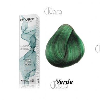 Helen Seward Infusion Booster GREEN plaukų dažai, 100ml 2