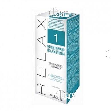 Helen Seward naujas plaukų tiesinimo metodas RELAX SYSTEM Nr. 1 natūraliems plaukams