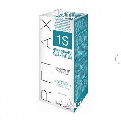Helen Seward naujas plaukų tiesinimo metodas RELAX SYSTEM Nr. 1/S natūraliems ir labai nepaklusniems plaukams