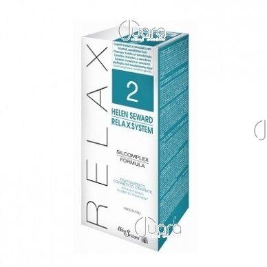 Helen Seward naujas plaukų tiesinimo metodas RELAX SYSTEM Nr.2 pažeistiems plaukams