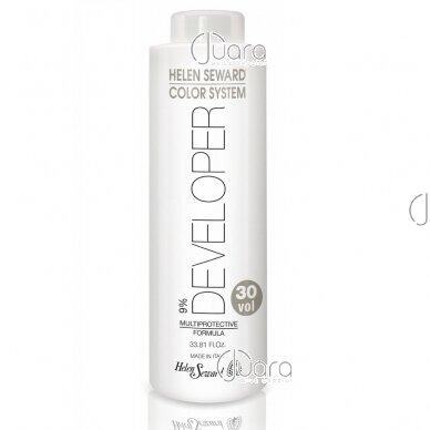 Helen Seward parfumuotas oksidantas kreminis gelis dažymui ir šviesinimui 30 Vol. - 9%, 1 l