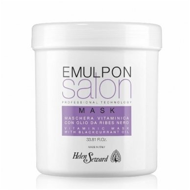 Helen Seward Emulpon kaukė dažytiems plaukams su vaisių ekstraktais