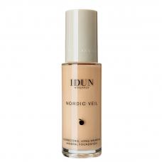 IDUN Minerals skystas makiažo pagrindas Nordic Veil Disa Nr. 1307, 26ml