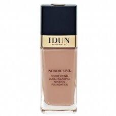 IDUN Minerals skystas makiažo pagrindas Nordic Veil Ylva Nr. 1314, 26ml
