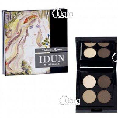 IDUN Minerals 4 spalvų akių šešėliai Lejongap Nr. 4404, 4g 4