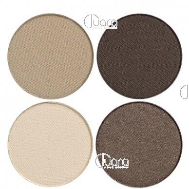 IDUN Minerals 4 spalvų akių šešėliai Lejongap Nr. 4404, 4g 5