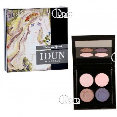 IDUN Minerals 4 spalvų akių šešėliai Norrlandssyren Nr. 4405, 4 g 6