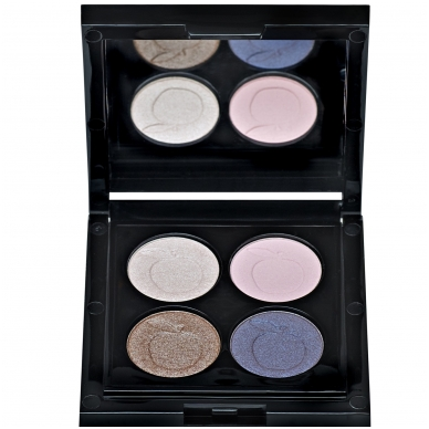 IDUN Minerals 4 spalvų akių šešėliai Norrlandssyren Nr. 4405, 4 g 4