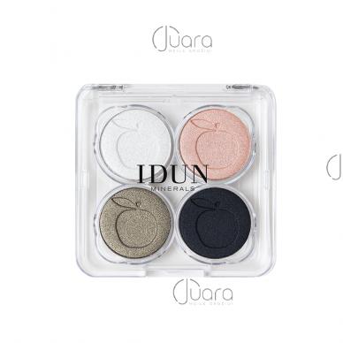 IDUN Minerals 4 spalvų akių šešėliai Vitsippa Nr. 4406, 4g