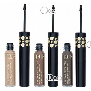 IDUN Minerals atspalvį suteikiantis antakių gelis, šviesus Nr. 5301,  5,5 ml 2