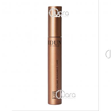 IDUN Minerals išskirtinės apimties suteikiantis blakstienų tušas, juodos spalvos Eir Nr. 5005, 8 ml 2