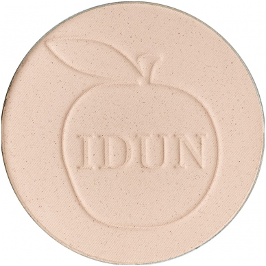 IDUN Minerals kompaktinė pudra skaidri Tuva Nr. 1521, 3,5 g 4