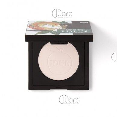 IDUN Minerals kompaktinė pudra suteikianti švytėjimo Tilda Nr. 1522, 3,5 g 2
