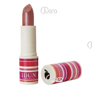 IDUN Minerals kreminiai lūpų dažai Stina Nr. 6208, 3,6 g