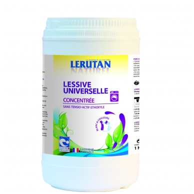 Lerutan universalūs skalbiamieji milteliai (koncentruoti), 1 kg