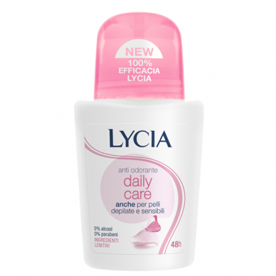 Lycia rutulinis dezodorantas Daily care, 50ml