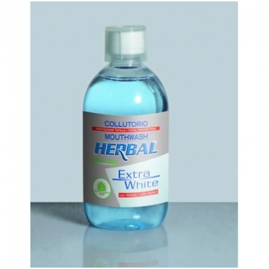 "Natura House burnos skalavimo skystis ""Herbal Extra White"", 500ml"