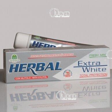 "Natura House dantų pasta ""Herbal Extra white"", 100ml"