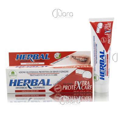 """Natura House dantų pasta nešiojantiems protezus """"Protexcare"""", 100ml"""