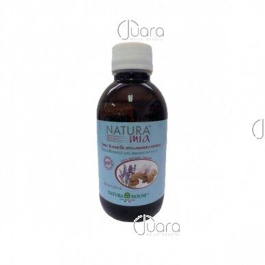 Natura House migdolų aliejus su levandų ir pačiolių ekstraktais, 200ml