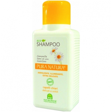Natura House purinamasis šampūnas šviesiems plaukams, 250ml
