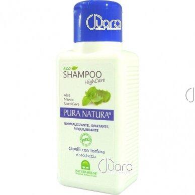 Natura House šampūnas nuo pleiskanų, sausiems plaukams, 250ml