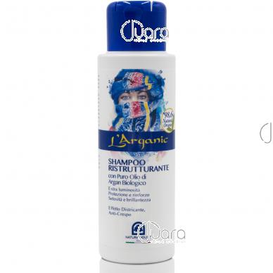 Natura House stiprinamasis šampūnas su argano aliejumi, 50 ml