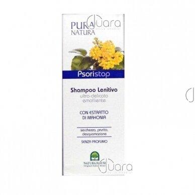 Natura House švelnus plaukų ir kūno šampūnas su mahonijų ekstraktu (Psoristop), 250ml