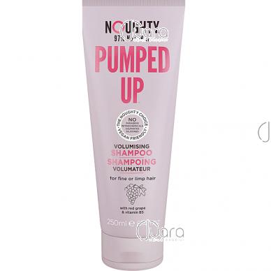 Noughty plaukų apimtį didinantis šampūnas ploniems suglebusiems plaukams su raudonųjų vynuogių ekstraktais ir vitaminu B5, 250ml